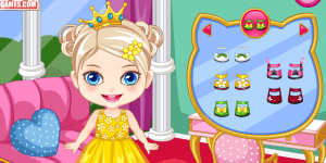 Baby Princess Birthday Makeover