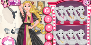 Rapunzel VS Cinderella Model Rivals