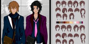 Anime Boys Dress Up Game