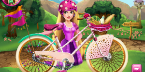 Girls Fix It Rapunzel's Bicycle