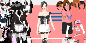French Maid Girl