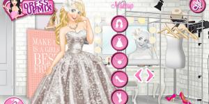 Hra - Disney Princess Wedding Models