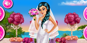 Hra - Princesses Wedding Prep