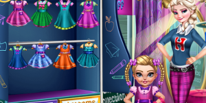 Modern Sister School Dress Up