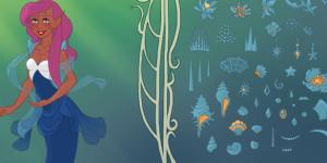 Mermaid Scene Maker