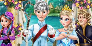 Hra - Ice Queen Wedding Kiss