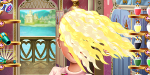 Hra - Sleeping Princess Real Haircuts