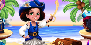 Hra - Pirate Princess Treasure Adventure
