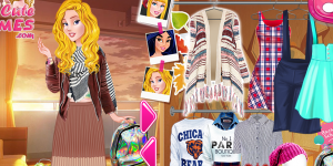 Hra - Cinderella's Back To School Collection