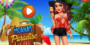 Hra - Moana's Paradise Escape