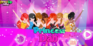 Hra - Princess Dab Queens