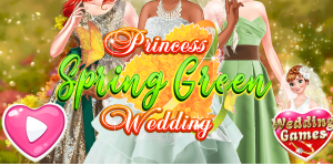 Hra - Tiana Spring Green Wedding