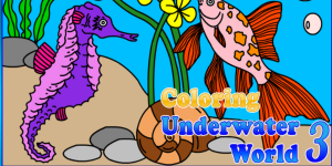 Hra - Coloring Underwater World 3