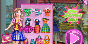 Hra - Girly Shopping Mall