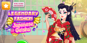 Hra - Legendary Fashion: Japanese Geisha