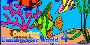Coloring Underwater Wolrd 4