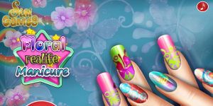 Hra - Floral Realife Manicure