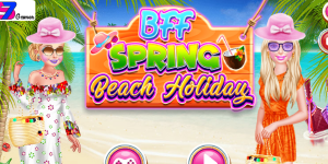 Hra - BFF Spring Beach Holiday