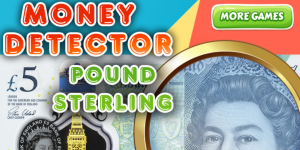 Hra - Money Detector Pound Sterling