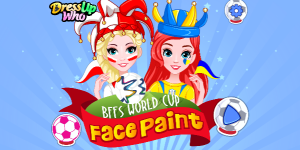 Hra - BFFs World Cup Face Paint