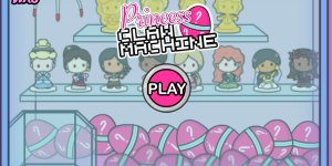 Princess Claw Machine