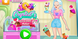 Hra - Crystal's Ice Cream Maker