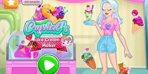 Crystal's Ice Cream Maker