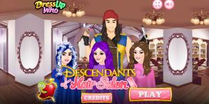 Hra - Descendants Hair Salon