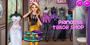 Hra - Princess Tailor Shop 2