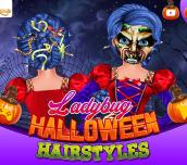 Hra - Ladybug Halloween Hairstyles