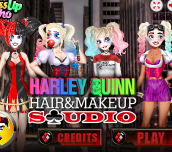 Hra - Harley Quinn Hair and Make-up Studio