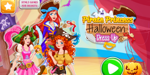 Hra - Pirate Princess Halloween Dress Up