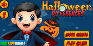 Hra - Halloween Differences
