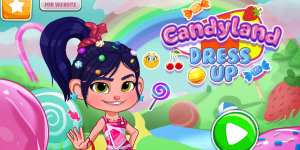 Hra - Candyland Dress Up