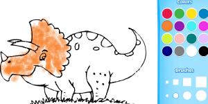 Hra - Dinosaur Coloring Book