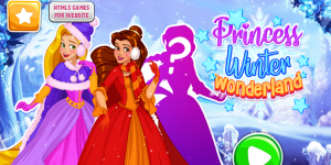 Hra - Princess Winter Wonderland