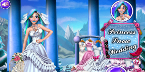 Hra - Princess Snow Wedding