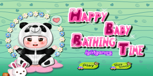 Hra - Happy Baby Bathing Time