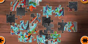 Hra - Wild Animals Jigsaw