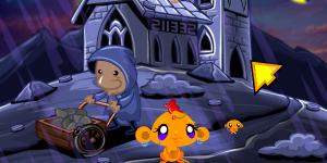 Hra - Monkey Go Happy Stage 255