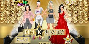 Hra - Kim K Busy Day
