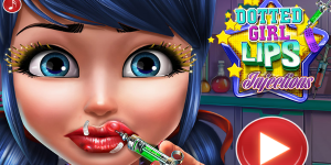 Hra - Dotted Girl Lips Injection