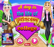 Hra - A Day In a Life of a Princess College