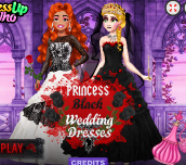 Hra - Princess Black Wedding Dress