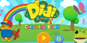 Hra - Didi & Friends Coloring Book