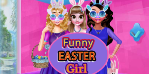 Hra - Funny Easter Girls