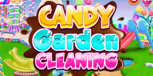 Hra - Candy Garden Cleaning