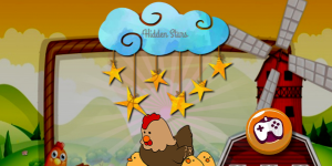 Hra - Cartoon Farm Hidden Stars