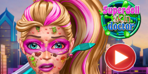 Hra - Super Doll Skin Doctor