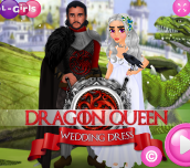 Hra - Dragon Queen Wedding Dress
